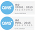 QMS registered 2013 and 2015